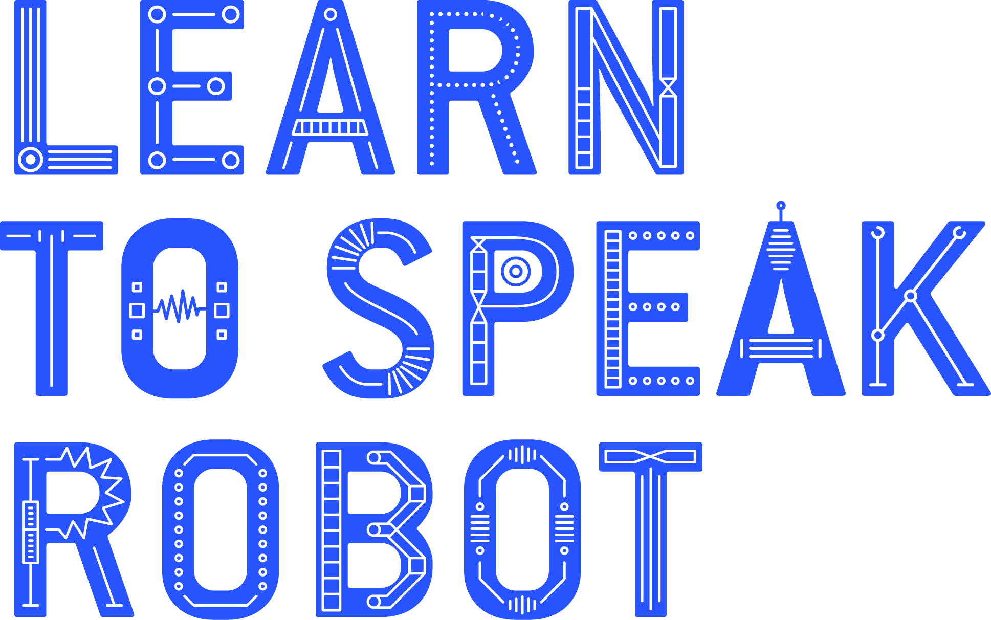 Learn to Speak Robot logo