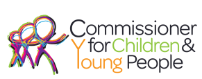 Commissioner for Children & Yount People logo