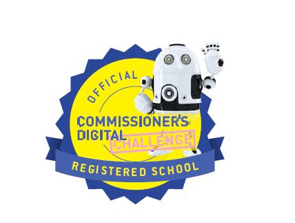 Digital seal for school website / prospectus