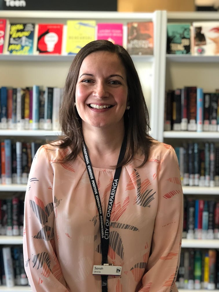 Photo of Sarah Roberts Library Officer, Onkaparinga Libraries